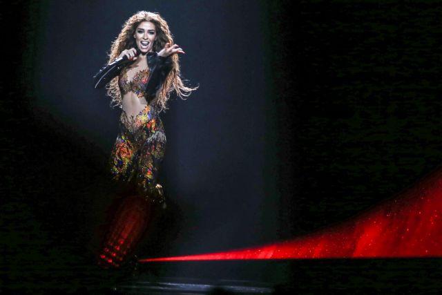 Eurovision: H Ελένη Φουρέιρα άναψε φωτιές στη σκηνή του Τελ Αβίβ | tovima.gr