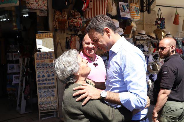 Μητσοτάκης: Στις ευρωεκλογές όλη η Κρήτη να βαφτεί μπλε | tovima.gr