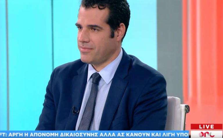 Θ. Πλεύρης στο One Channel: Προσβολή για τους πολίτες οι παροχές Τσίπρα | tovima.gr
