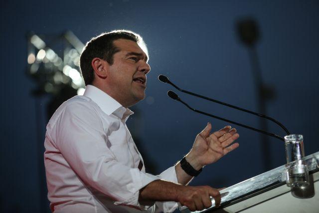 Τσίπρας: Την Κυριακή ψηφίζουμε για το αν θα συνεχίσουμε έξω από τα μνημόνια | tovima.gr