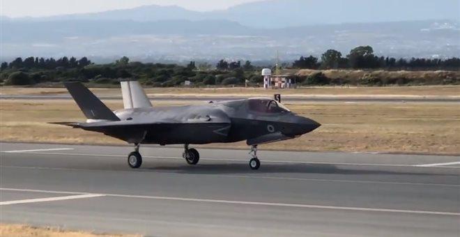 Στην Κύπρο βρετανικά μαχητικά F-35B | tovima.gr