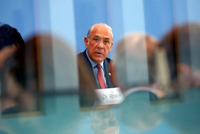 Γκουρία: Υπάρχει πολλή δουλειά ακόμη για την ανάπτυξη | tovima.gr