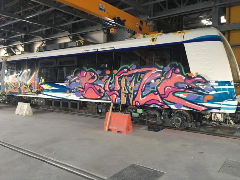 Ο Σπίρτζης δικαιολογεί τα γκράφιτι στο μετρό Θεσσαλονίκης | tovima.gr