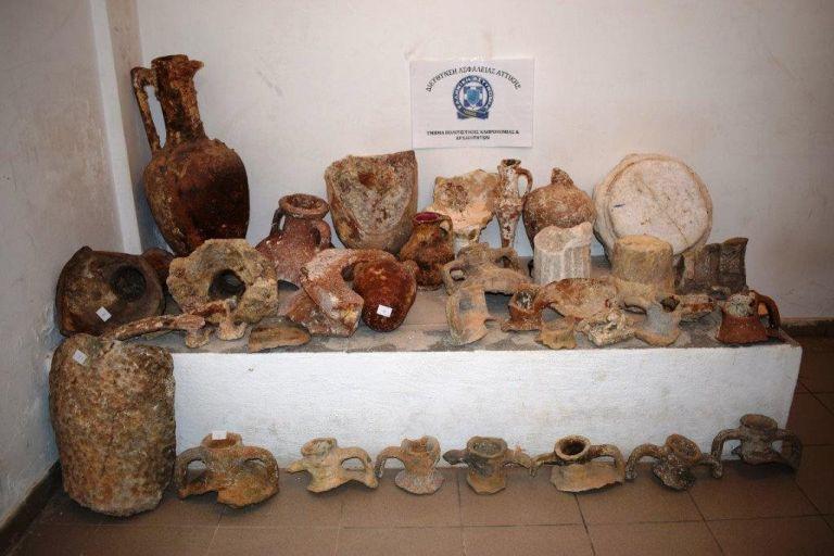 Σύλληψη 65χρονου στη Λακωνία για αρχαιοκαπηλία | tovima.gr