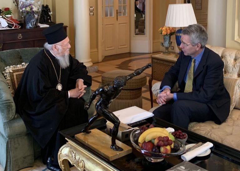 Πάιατ : Στήριξη των ΗΠΑ στον Βαρθολομαίο | tovima.gr