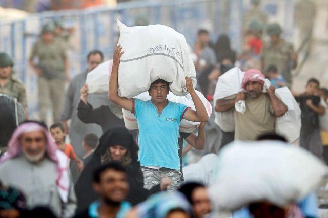 Συρία: 937 πρόσφυγες επέστρεψαν στις εστίες τους το τελευταίο 24ωρο | tovima.gr