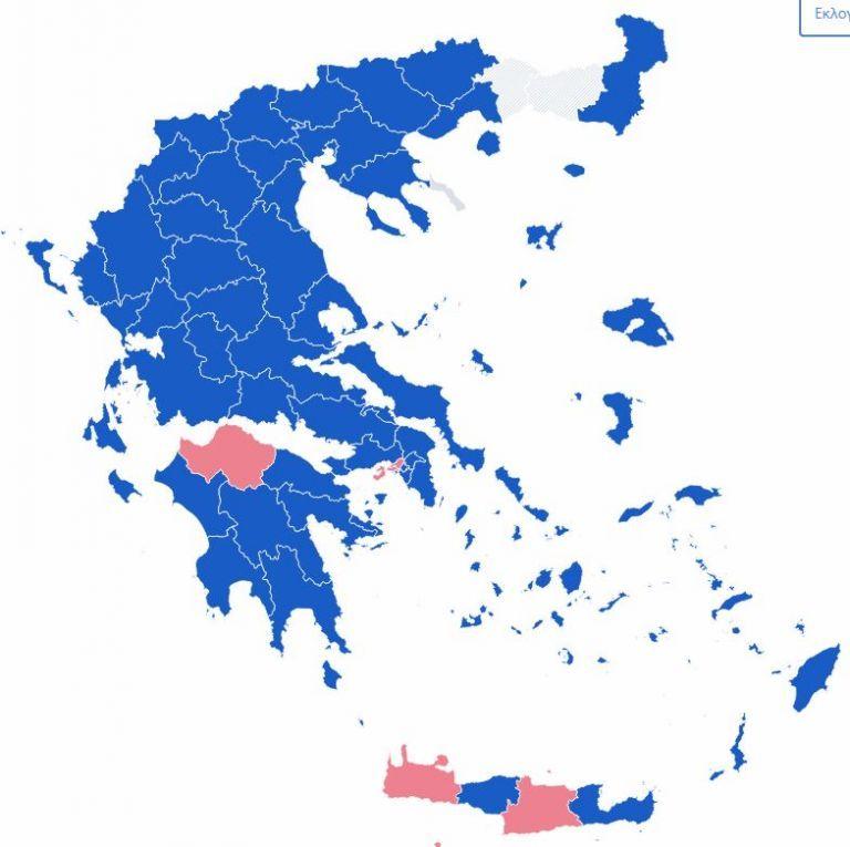 Υπ. Εσωτερικών : Στις 9 μονάδες η διαφορά ΝΔ-ΣΥΡΙΖΑ | tovima.gr
