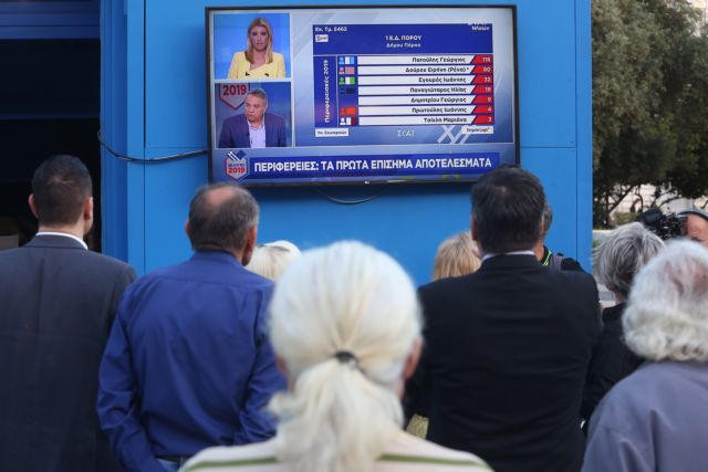 Exit poll: SYRIZA trails ND by 7 percentage points in Europarliament election | tovima.gr