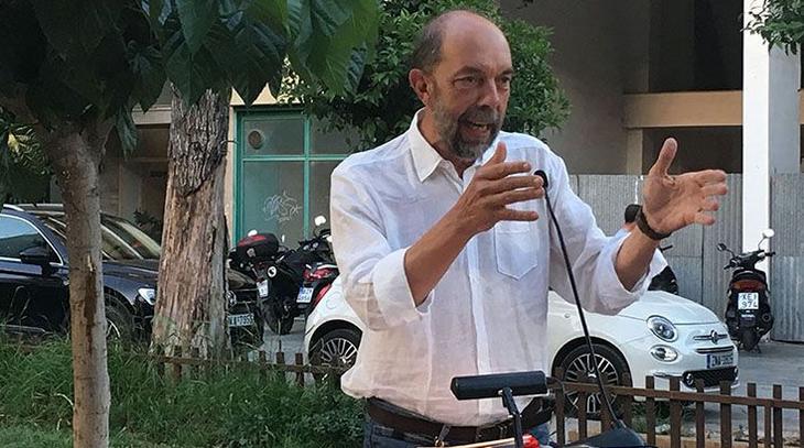 Εκλογές 2019: Ψήφισε ο υποψήφιος δήμαρχος Πειραιά Νίκος Μπελαβίλας | tovima.gr