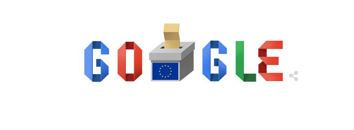 Στις ευρωεκλογές αφιερωμένο το σημερινό doodle της Google | tovima.gr