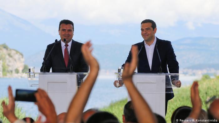 DW: «Οι Πρέσπες δεσμεύουν κάθε ελληνική κυβέρνηση» | tovima.gr