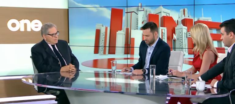 Α. Ανδριανόπουλος στο One Channel: Αν η ΝΔ χρησιμοποιούσε το προσφυγικό θα είχε μεγαλύτερη διαφορά   tovima.gr