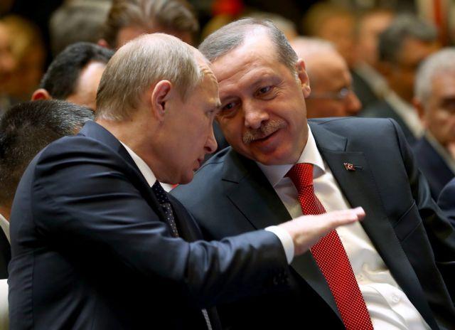 Τηλεφωνική επικοινωνία Πούτιν-Ερντογάν για τη Συρία | tovima.gr