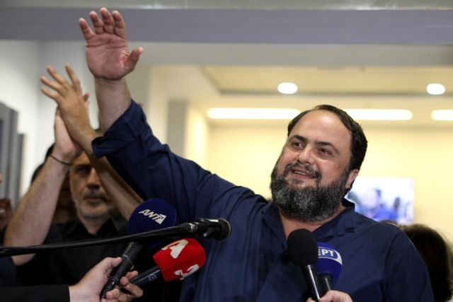 Marinakis stresses unity after Piraeus Victorious' Moralis elected mayor | tovima.gr