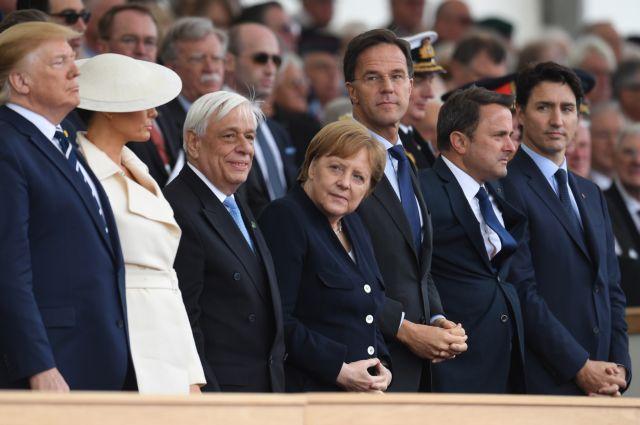 Παυλόπουλος: Δίπλα στους Τραμπ και τη βασίλισσα Ελισάβετ   tovima.gr