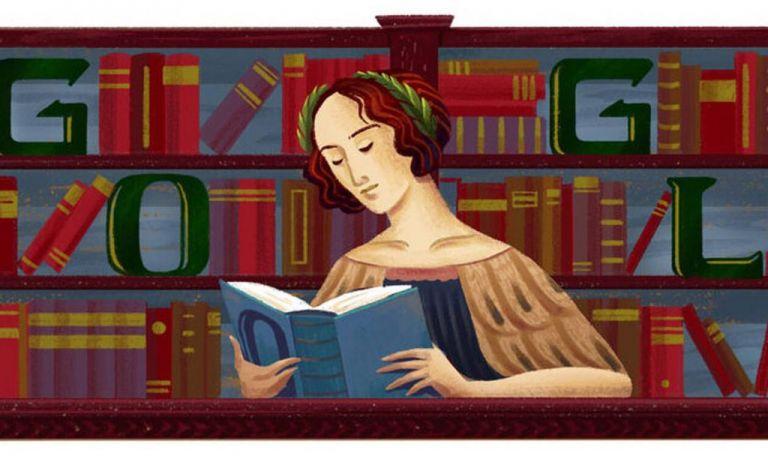 Αφιερωμένο στην Ελένα Κορνάρο Πισκόπια το doodle της google | tovima.gr