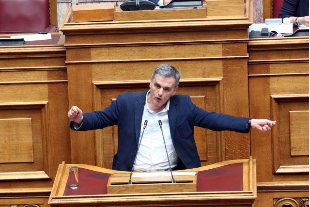 Επίθεση Τσακαλώτου σε ΚΚΕ-ΚΙΝΑΛ : Εσείς ανεβάσατε τα ποσοστά της ΝΔ | tovima.gr