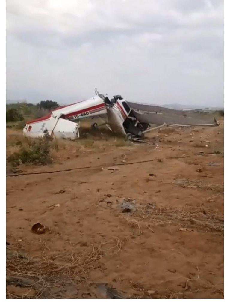 Στους 2 οι νεκροί από τη συντριβή αεροσκάφους στην Αττάλεια | tovima.gr