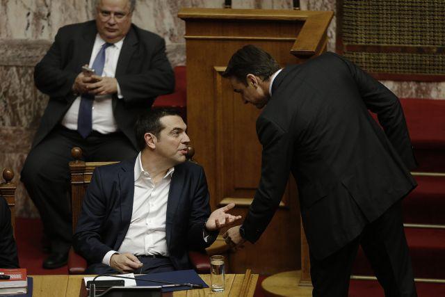 Το ντέρμπι των αρχηγών : Τσίπρας και Μητσοτάκης μονομαχούν στην Αχαΐα | tovima.gr