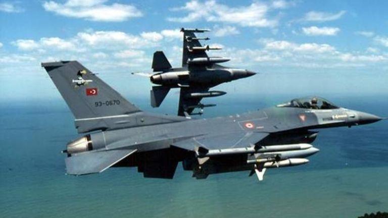 H Αγκυρα κλιμακώνει την  ένταση με μαζικές υπερπτήσεις από τουρκικά F-16   tovima.gr