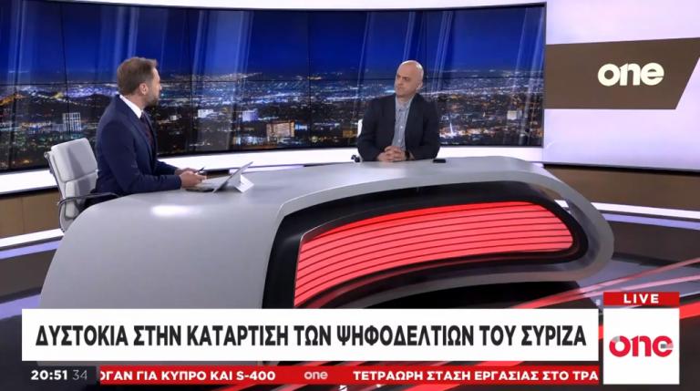 Γ. Μαντέλας στο One Channel: Βασικός στόχος της ΝΔ είναι η αυτοδυναμία | tovima.gr