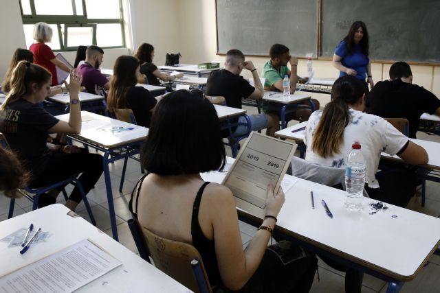 Πανελλαδικές 2019: Σε μαθήματα κατεύθυνσης εξετάζονται οι υποψήφιοι των ΕΠΑΛ | tovima.gr