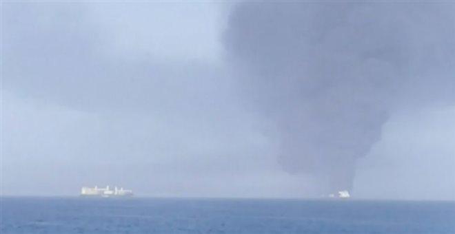 Κόλπος Ομάν: Από επίθεση οι εκρήξεις στα δύο τάνκερ | tovima.gr