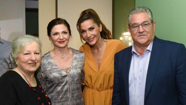 Όταν ο Κουτσούμπας συνάντησε τη Βανδή | tovima.gr