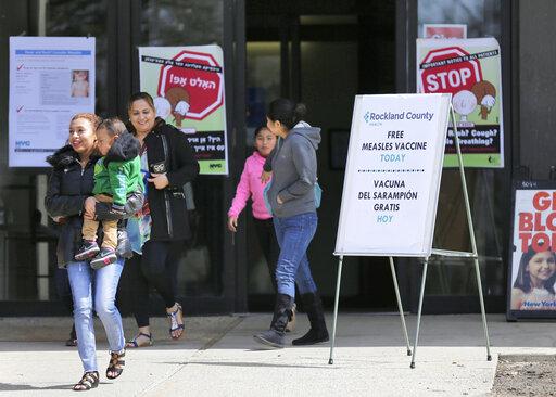 Επιδημία ιλαράς στη Ν. Υόρκη – Καταργεί τη θρησκευτική εξαίρεση στον εμβολιασμό | tovima.gr