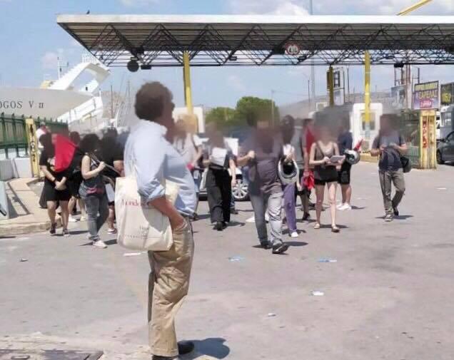 Τραμπούκοι επιτέθηκαν στην υποψήφια βουλευτή Χριστίνα Τσιλιγκίρη και στους συνεργάτες της | tovima.gr