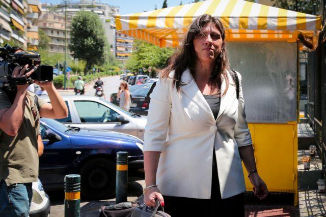 Κωνσταντοπούλου: Αχταρμάς το κόμμα του Βαρουφάκη, ένα «Ποτάμι» στη χειρότερη μορφή του | tovima.gr