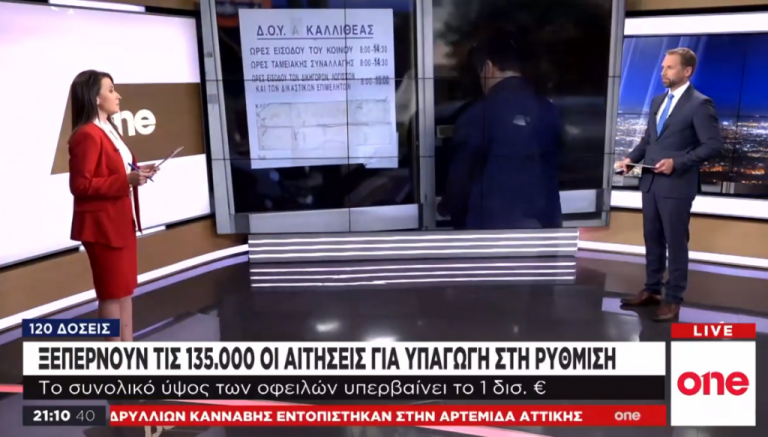 One Channel: Οδηγός ΑΑΔΕ για τις 120 δόσεις | tovima.gr