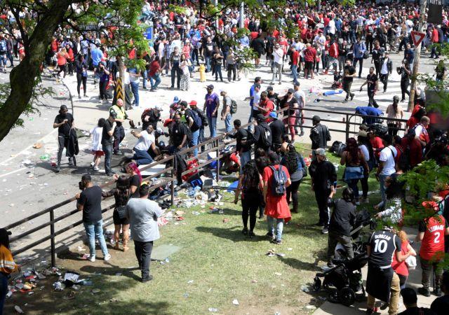 Τραγική τροπή στη γιορτή των Ράπτορς με τέσσερις τραυματίες | tovima.gr