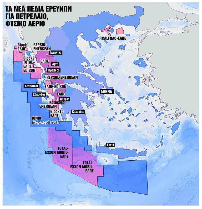 Πόσο πετρέλαιο και φυσικό αέριο κρύβουν τα κοιτάσματα σε Ιόνιο και Κρήτη | tovima.gr