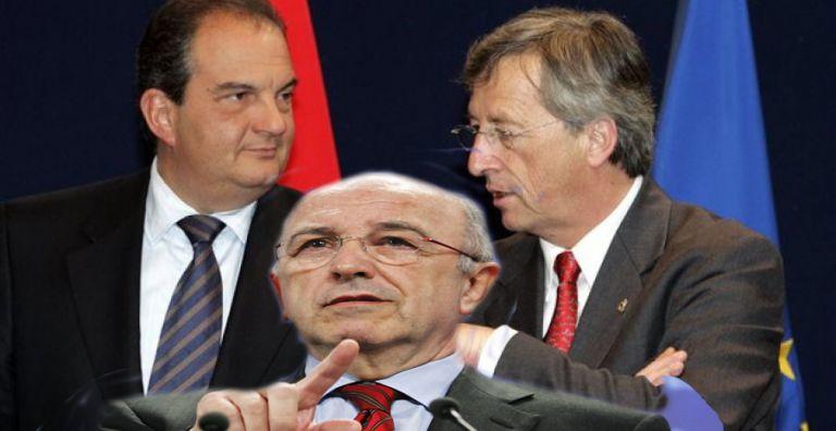 Μετά τον Αλμούνια και ο Γιούνκερ θυμήθηκε ότι η κυβέρνηση Καραμανλή κατέστρεψε την οικονομία   tovima.gr
