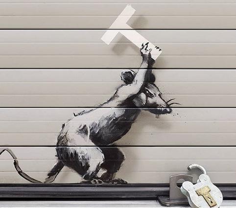 Το νέο έργο του Banksy κατά του Brexit – Στο αεροδρόμιο του Χίθροου | tovima.gr