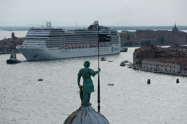 Οικολόγοι: Να απαγορευτούν τα κρουαζιερόπλοια στη Βενετία | tovima.gr