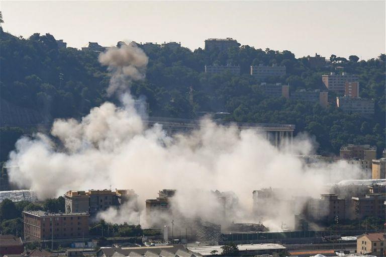 Γένοβα: Κατεδάφισαν τη γέφυρα που κατέρρευσε σκοτώνοντας 43 ανθρώπους | tovima.gr