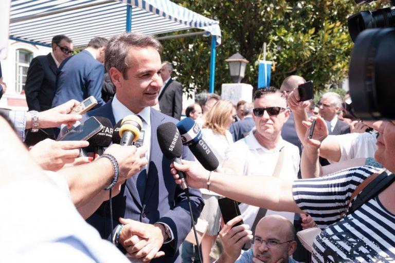 Μητσοτάκης : Μήνυμα απέναντι στο διχασμό και τον λαϊκισμό το αποτέλεσμα των εκλογών | tovima.gr
