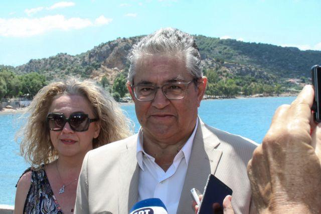 Κουτσούμπας: Η ψήφος στο ΚΚΕ επιστρέφει μόνο στον λαό | tovima.gr