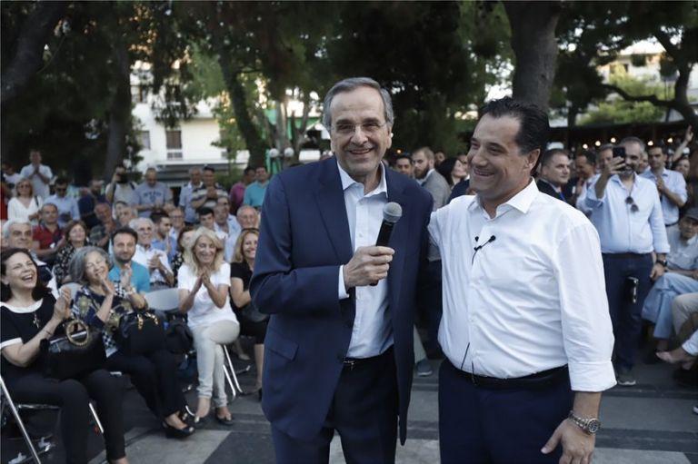 Σαμαράς: Ο Αδωνις είναι παλικάρι | tovima.gr