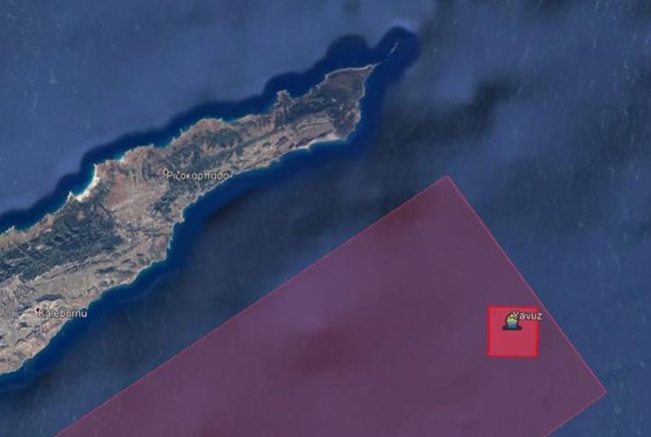 Κύπρος: Νοτίως των ακτών του Αποστόλου Ανδρέα το «Γιαβούζ» | tovima.gr