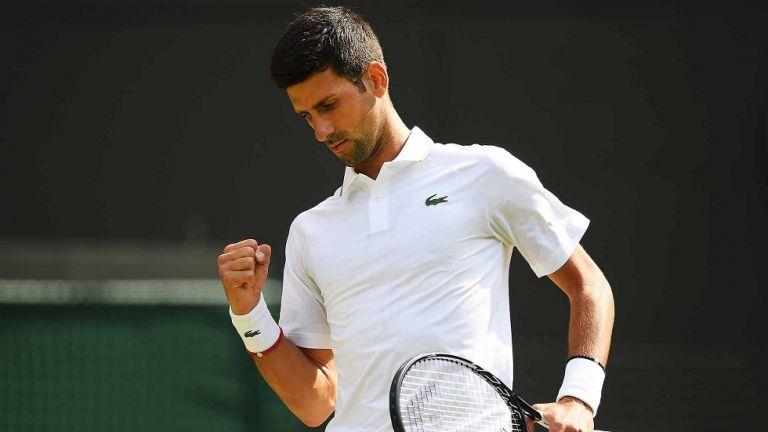 Wimbledon : Με επίδειξη ισχύος στα προημιτελικά ο Τζόκοβιτς   tovima.gr
