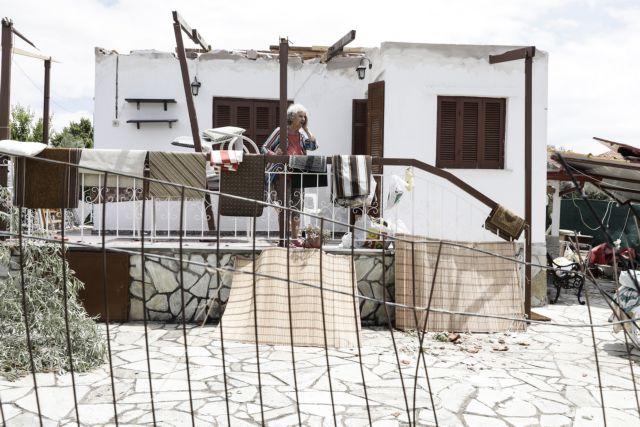 Χαλκιδική: Εικόνες καταστροφής από τη φονική κακοκαιρία | tovima.gr