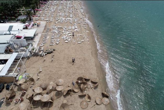 Δείτε από ψηλά την καταστροφή που επέφερε η κακοκαιρία στη Χαλκιδική   tovima.gr