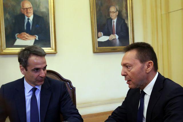 Συνάντηση Μητσοτάκη με Στουρνάρα – Στη συνέχεια βλέπει Δρόσο της ΕΡΤ | tovima.gr