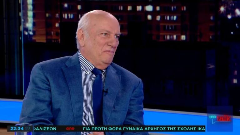 Χ. Ζερεφός στο One Channel: Το 1/3 της Ελλάδας κινδυνεύει με ερημοποίηση | tovima.gr