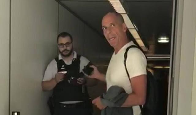 Επεισόδιο με Βαρουφάκη: Αυτόπτης μάρτυρας αποκαλύπτει τι συνέβη στο Σαρλ ντε Γκωλ   tovima.gr
