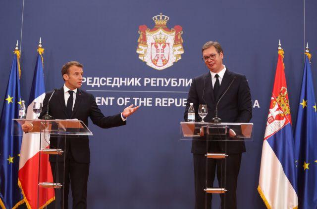 Συμβιβασμό για το Κόσοβο ζήτησε ο Μακρόν από το Βελιγράδι | tovima.gr