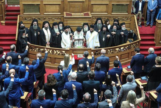 Βουλή : Ορκίστηκαν οι 300 – Οι παλιοί, οι νέοι και οι γυναίκες (φωτο + βιντεο) | tovima.gr